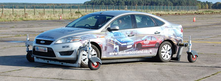 Skid Car Scotland Limited - Accident Prevention Courses featuring the world famous Skid Car.